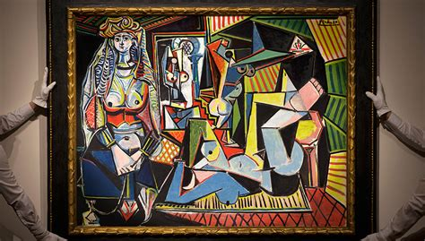picasso paintings recent sales picasso s les femmes d alger version o set to in