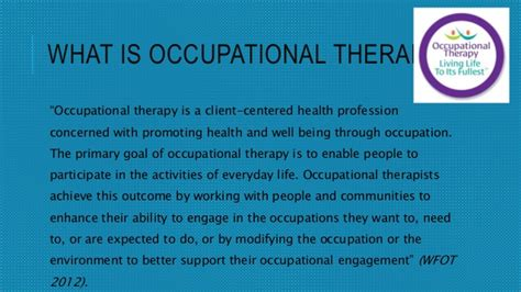 themes of meaning occupational therapy cpsy 224 occupational therapy presentation 4 7 15