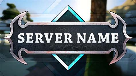 minecraft server logo template deadly youtube