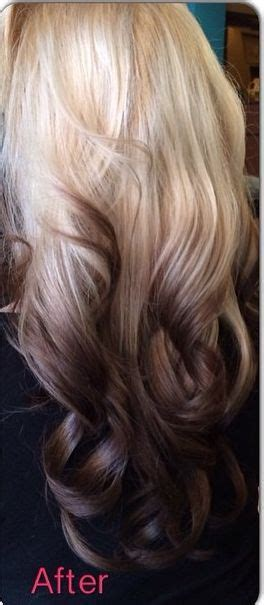 pics of blonde roots with brown on bottom 50 best streaks of white images on pinterest gorgeous