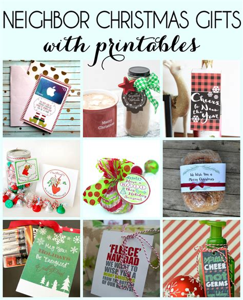 christmas gifts for neighbours gift idea for the holidays and free printable gift tags inkhappi