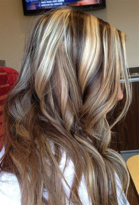 hair color brown with blond highlights blonde highlights with lowlights pictures dark brown