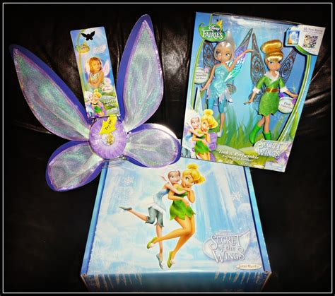 Disney Fairies Light Up Wings Disney Fairies Secret Of The Wings Toys Sweeties Freebies