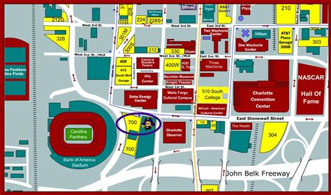 parking map nfl carolina panthers fly to the