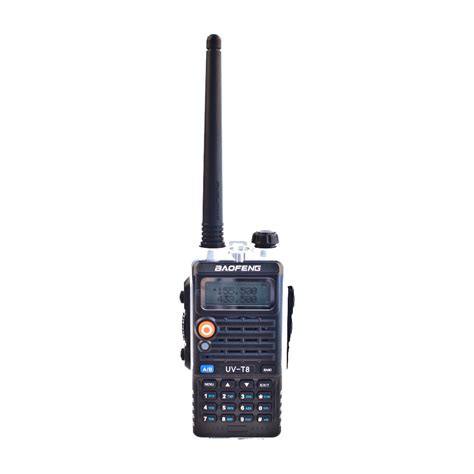 Baofeng Walkie Talkie Dual Band Two Way Radio 5w 128ch Fm A52 new baofeng two way radio uv t8 walkie talkie dual band uvt8 8w high power dc7 4v 3800mah li ion