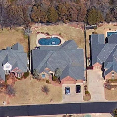 russell westbrook house russell westbrook s house in edmond ok google maps virtual globetrotting