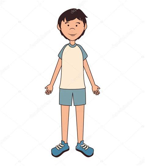 imagenes de adolescentes cool ilustraci 243 n de vector de adolescente ni 241 o dibujos animados