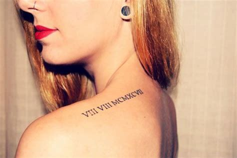 images  roman numeral tattoos  pinterest fonts matching tattoos  sister