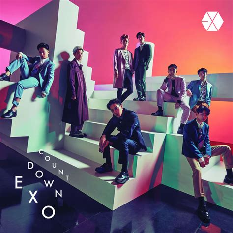exo japan countdown yesasia countdown album dvd 通常盤 日本版 cd exo エクソ