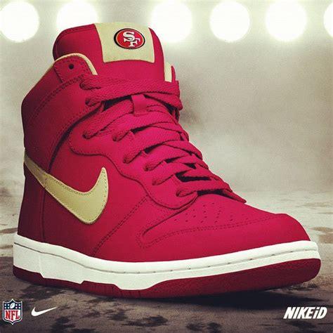 49ers sneakers 49ers fangear nike sneakers 49ers