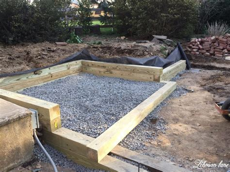 building a wood retaining wall lehman