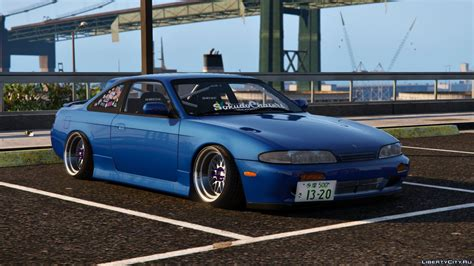 S14 Nissan by Nissan S14 Zenki Stance Tuning Template для Gta 5