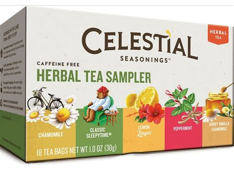 Celestial Seasonings Detox Wellness Tea by Celestial Seasonings Herbal Tea Sler With 5 Flavors 18