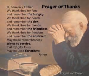 thanksgiving prayer lyrics prayer of thanks by abigail van buren the original dear abby