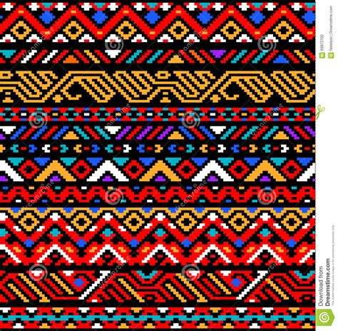 colorful ethnic wallpaper colorful red ethnic geometric striped aztec seamless