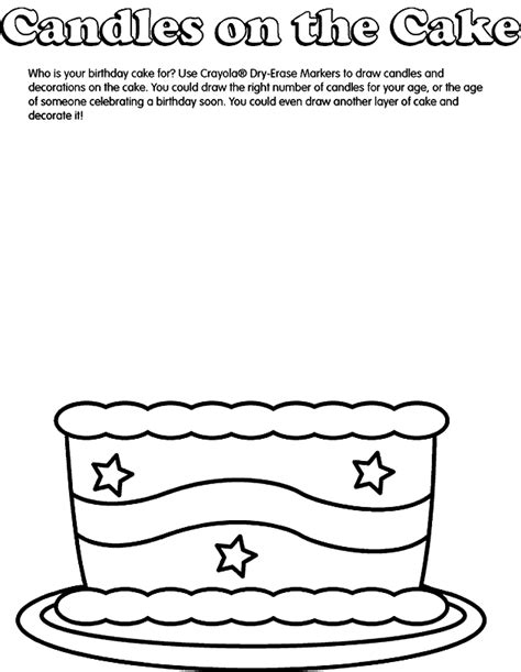 coloring pages birthday cake candles pictures of birthday cakes with candles cliparts co
