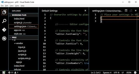 reset visual studio user settings how to customize visual studio code organic traffic