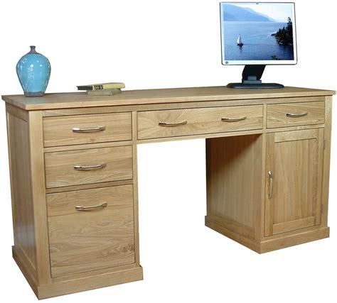 pedestal computer desk mobel oak pedestal computer desk