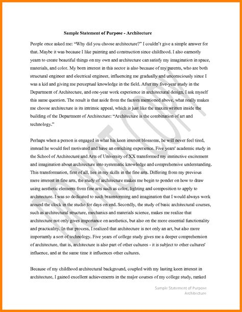 Letter Of Research Statement Sle Statement Of Interest Template 28 Images 9 Sle Statement Of Interest Free Sle Exle 7