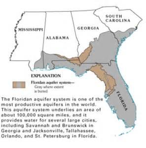map of floridan aquifer the wiki