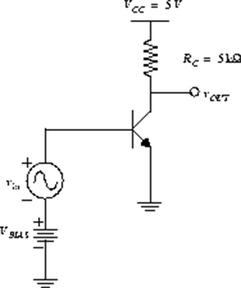 npn transistor load on emitter experiment 8 single stage lifiers with passive loads bjt