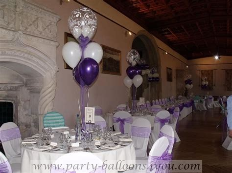 Balloon Table Decorations   Wedding Decorations at Ashton