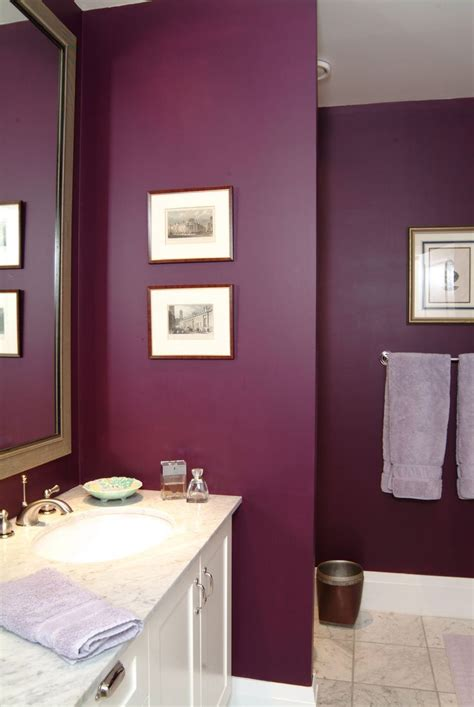 plum colored bathrooms plum purple bathroom from interior design project by jane