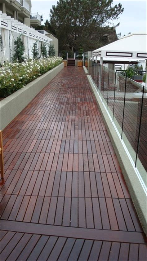 Outdoor Deck Flooring by Outdoor Deck Tiles Modern Deck San Diego By Design For Less