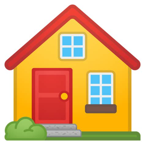 home emoji house emoji