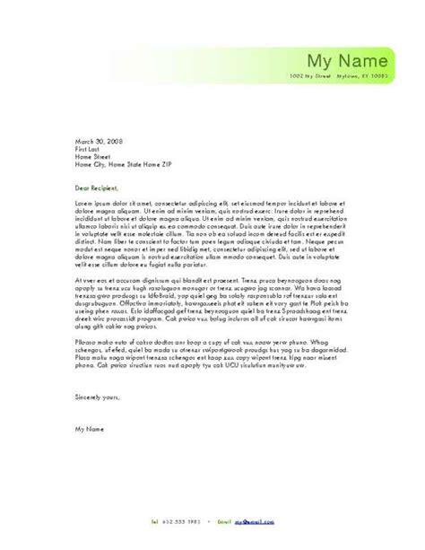personal letterhead samples printable letterhead