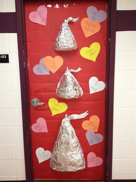 special smart special hearts door decorations from the