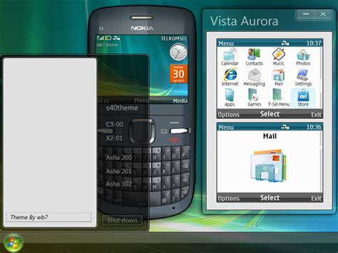 nokia 5130 themes windows vista vista aurora theme asha 200 asha 201 asha 302 c3 00 x2 01