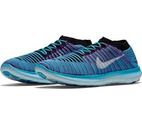 nike knit fly nike free motion fly knit s running shoes blue