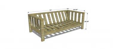 Sectional Sofa Plans 5 Diy Outdoor Sofas To Build For Your Deck Or Patio The Handyman S