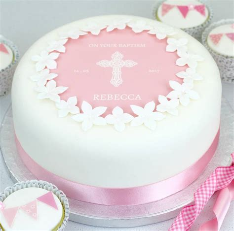 christening cake or baptism cake decorating kit by clever