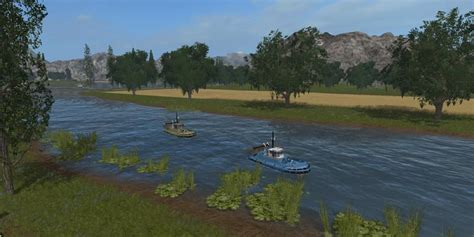 Fishing Ls by Ls11 Boat Fishing River V1 0 Fs17 Farming Simulator 2017
