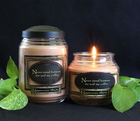 Shed Candles by Cappuccino Brulee Rls Cap