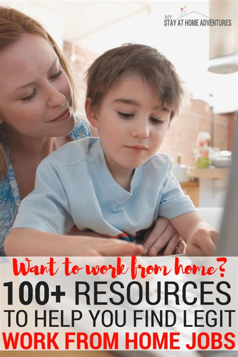 want to work from home 100 resources to help get