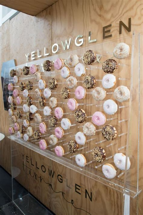 wedding donut walls   hottest catering trend