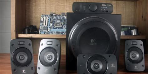 Logitech Z906 Dolby Surround Sound Speaker System Limited 5 best home theater systems reviews of 2018 bestadvisor