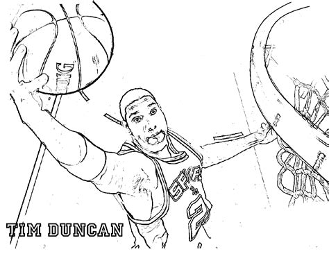 coloring pages nba players coloring pages basketball players coloring home