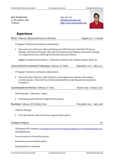 Modelo Curriculum Vitae En Ingles Pdf Ejemplos De Resume En Ingles Car Interior Design
