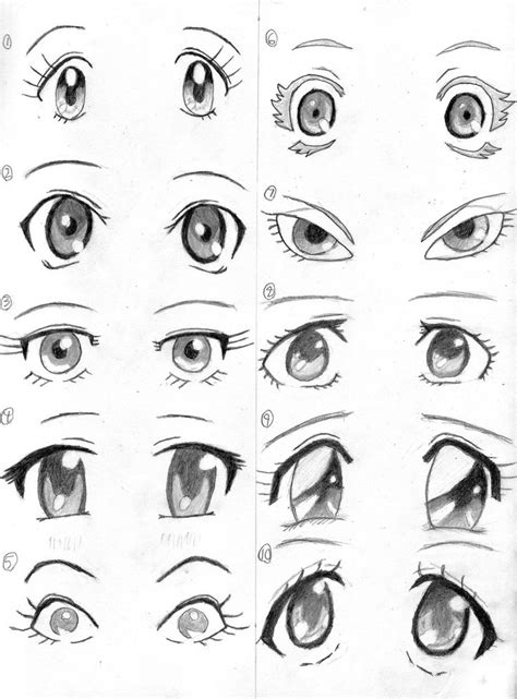 adding expression how to draw eyebrows step by step more anime eyes by imgerik deviantart com on deviantart