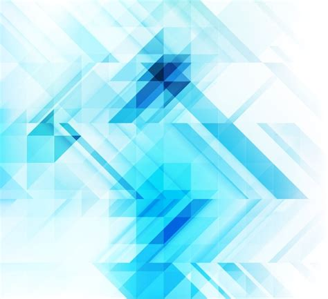 geometric abstract pattern background abstract blue geometric mosaic background free vector