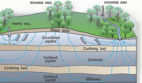 groundwater discharge the water cycle from usgs water