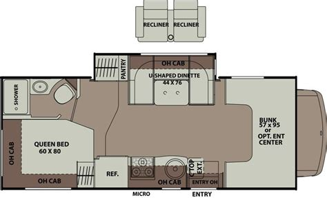coachmen class c motorhome floor plans 2015 coachmen leprechaun 220qb class c tucson az freedom