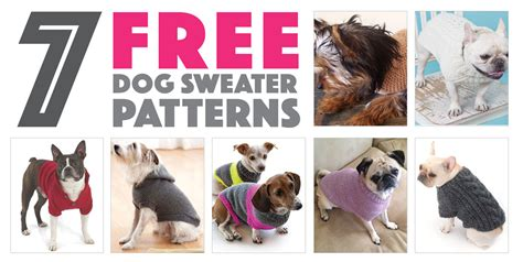 Delightful Christmas Knitting Patterns For Dogs #7: Free-dog-sweater-patterns-cover-1.jpg