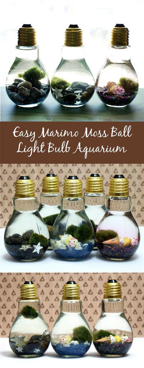 Where Can I Sell Handmade Crafts - easy diy light bulb aquarium