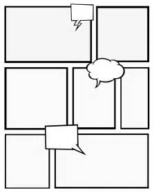 blank comic template 7 best images of comic book templates printable free
