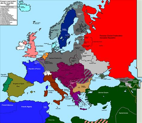 Map Of Europe In Ww1 by Map Of Europe Before Ww1